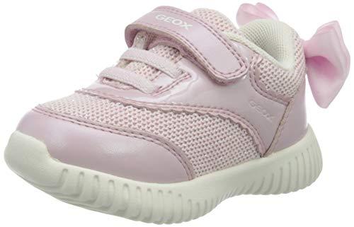 Geox B Waviness Girl C, Scarpe da Ginnastica Basse Bambina, Rosa (Pink C8004), 22 EU