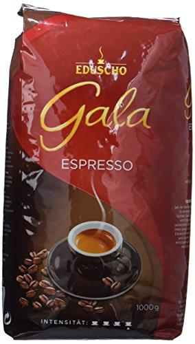 Eduscho Gala Espresso Röstkafee in ganzen Bohnen, 1 kg