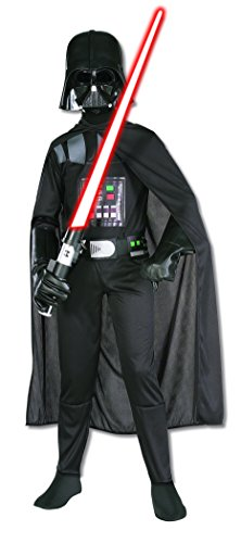 Rubie's Star Wars Child's Darth Vader Costume, Medium, Black, Medium