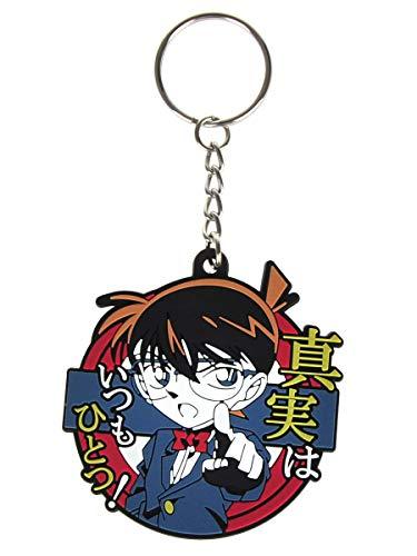 CoolChange Detektiv Conan Schlüsselanhänger mit Conan Edogawa Anhänger aus PVC