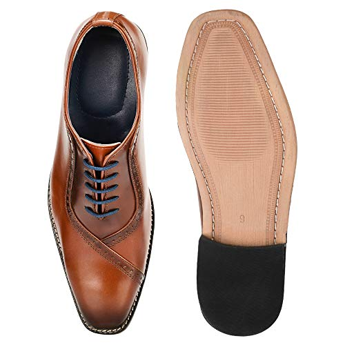 Liberty Genuine Leather Dress Shoe 11 Tan