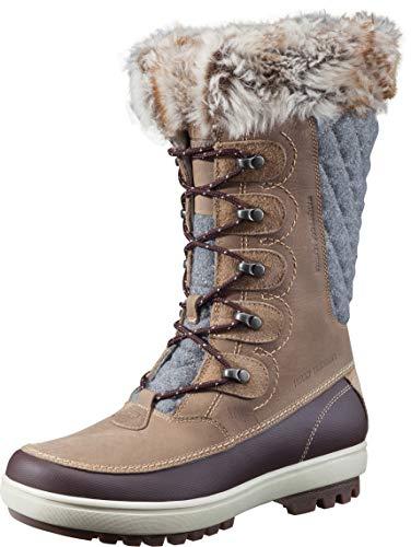 Helly Hansen Womens Garibaldi VL Cold Weather Snow Boots 704 Camel/Coffe Bean/Bunge Cord/Natura/Khaki/Angora/ Sperry Gum 6