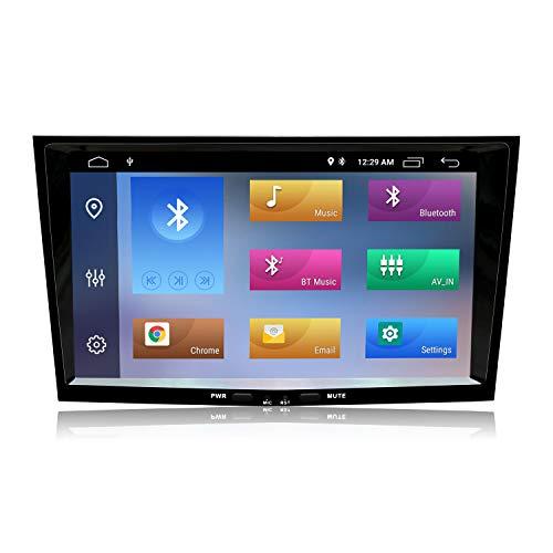 8 Zoll Touchscreen Android 10 Autoradio für Opel Vauxhall Astra Antara Corsa Vivaro Meriva Vectra Zafira,Doppel Din Radio mit GPS Navi Bluetooth AM PM WiFi SWC DSP DAB +,Keine DVD,2+80G