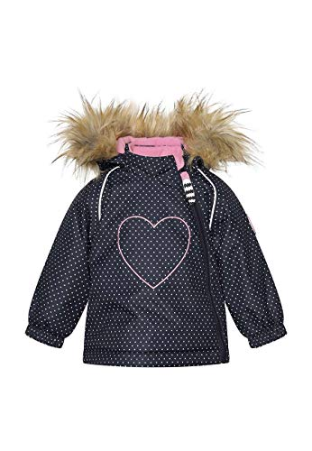 Racoon Baby-Girls Gorman Winter Jacket AW, Mini DOT, 98
