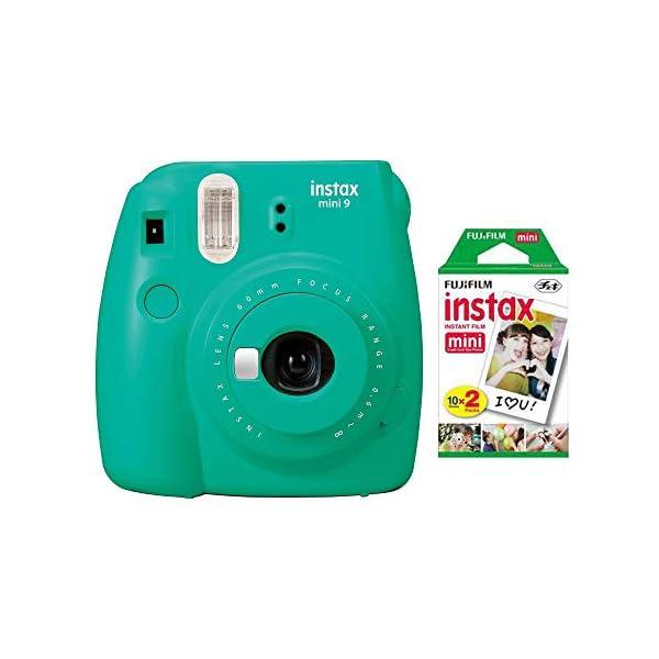Fujifilm Instax Mini 9 – Parent – Instant Camera + Fuji INSTAX Mini Film...
