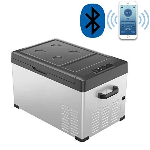 Portable Refrigerator/Freezer 32 Quart(30 Liter), Ansten Mini Fridge Electric Cooler for Driving,...