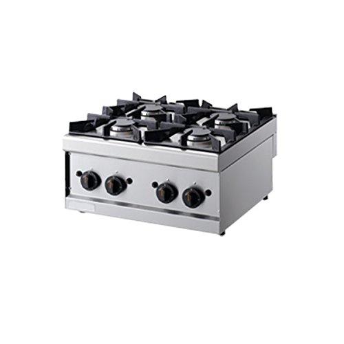 Cuisine 4 brûleurs à gaz – Dim.CM. 60 × 60