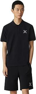 Kenzo Little X Sport Men's Polo Shirt Black Short-Sleeved 100% Cotton (Classic Fit)
