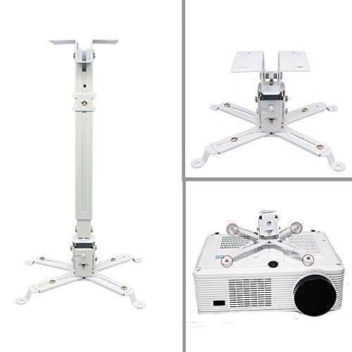 AlexVyan Projector Stand Ceiling Mount Kit 3 Feet (Weight Capacity : 50 Kg. Made of Heavy Duty
