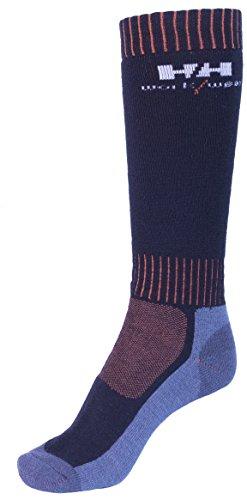 Helly Hansen Workwear 2 Paar Arbeitssocken Lahti Extreme, robuste Socken für Handwerker, Industrie Gr. 40 - 43, rot, 75735