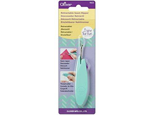 CLOVER Seam Ripper Sew/Fun Retractable SeamRipper, Multi-Color