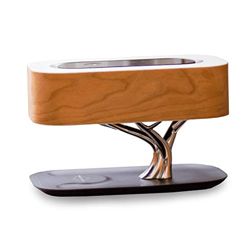 Articture Light of Life Bedside Lamp with Bluetooth Speaker and Wireless Charger - 3-in-1 Dimmable Tree of Life Bonsai Lamp for Side Tables - Modern Table Lamp for Bedrooms, Living Room, Home Decor
