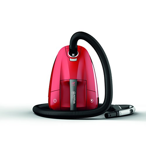 Nilfisk 128350554 Aspirador de Trineo con Bolsa Rojo Elite RCL14E08A2, 450 W, 3.2 litros, 68 Decibelios, Plástico, Red