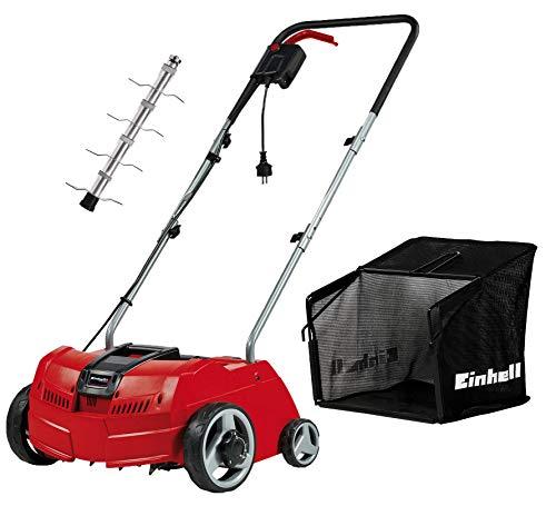 Einhell 3420630 GC-ES 1231/1 Elektro-Vertikutierer + Fangsack GC-ES/SA 1231/1 Vertikutierer-Zubehör