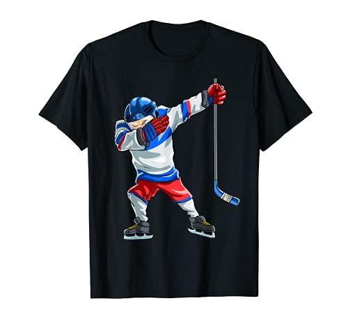 T-shirt humoristique de joueur de hockey sur glace - Cadeau de sport pour enfants et hommes T-Shirt