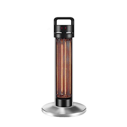 ChangHua1 Calentador de Patio Inicio de Ahorro de energía Vertical portátil infrarrojo lejano-Tubo Calentador de Fibra de Carbono Invierno Grill Calefactor silencioso
