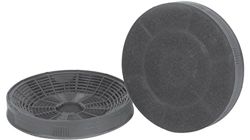 SILVERLINE AF 100 Aktivkohlefilter (1 Paar) / Dunstabzugshaubenzubehör/Filter
