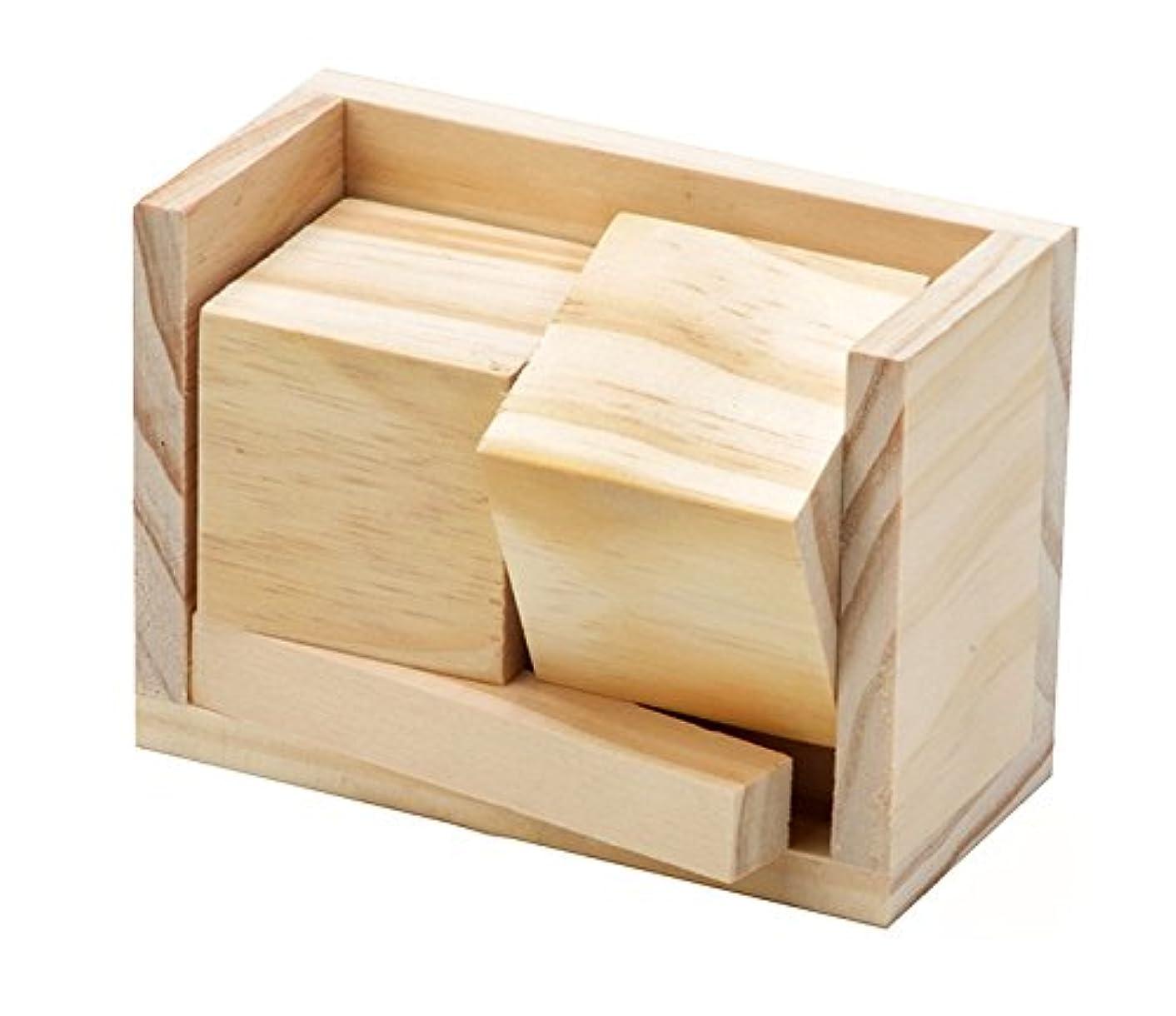 Darice Unfinished Wood Block Calendar