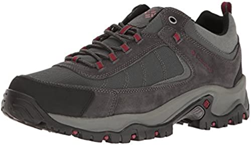 Columbia Men& 039;s Grünite Ridge Hiking schuhe, Dark grau, rot Element, 10.5 D US