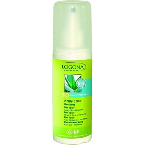 LOGONA Naturkosmetik Daily Care Deo Spray Aloe und Eisenkraut, 100ml