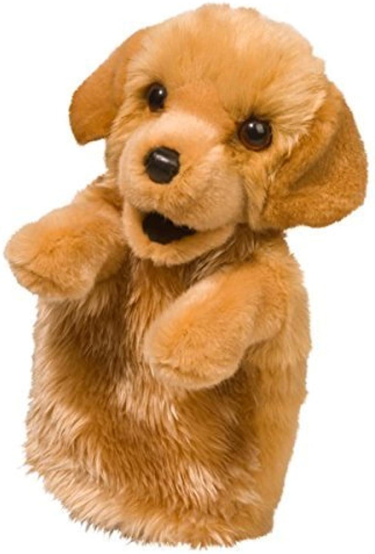 golden Retriever Hand Puppet by Douglas Cuddle Toys