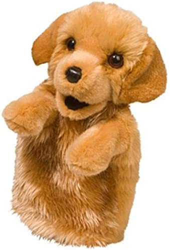 Golden Retriever Hand Puppet by Douglas Cuddle Toys