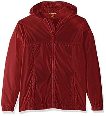 AquaGuard Girls' Big Essential Rainwear Jacket, Red, X-Large