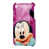 Disney Minnie Mouse Hard Cover Case iPhone 3G 3GS Cute