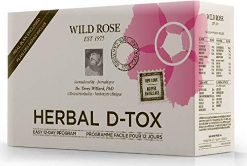Wild Rose Wild Rose Kit 1 caja del programa Herbal D-Tox 200 g