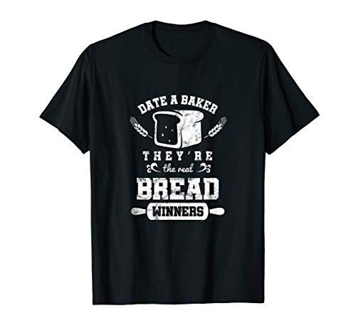 Bäcker Brot Gebäck Backen Backware Backhaus Brezel Geschenk T-Shirt