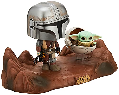 Funko Pop! Moment Star Wars: The Mandalorian - Mandalorian and The Child Vinyl Bobblehead