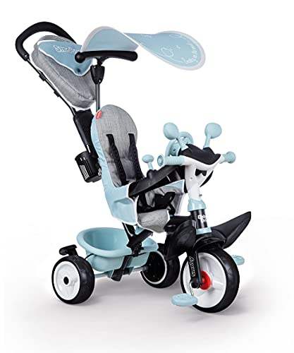 Smoby- Triciclo Baby Driver Confort Azul (741500), Color