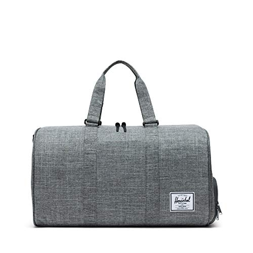 Herschel Novel Duffel Bag, Raven Crosshatch, Classic 42.5L