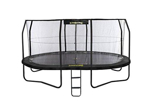 JumpKing Gartentrampolin JumpPod - 457 cm x 305 cm