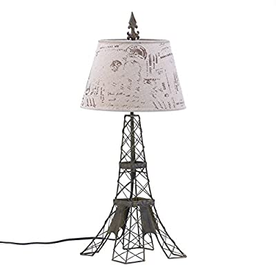 Smart Living Company 15162 Fba Parisian Table Lamp