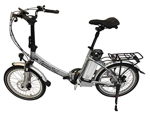 GermanXia Elektro-Faltrad Mobilemaster Touring CH 7G Shimano 20 Zoll, eTurbo 250 Watt HR-Antrieb, bis zu 138 km Reichweite nach StVZO*