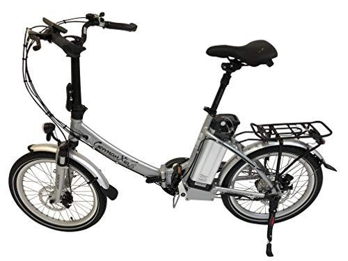 GermanXia® E-Bike E-Faltrad Mobilemaster E-Klapprad TOURING CH 7G Shimano 20 Zoll mit Bewegungssensoren, eTurbo 250 Watt HR-Antrieb, bis zu 140 km nach StVZO