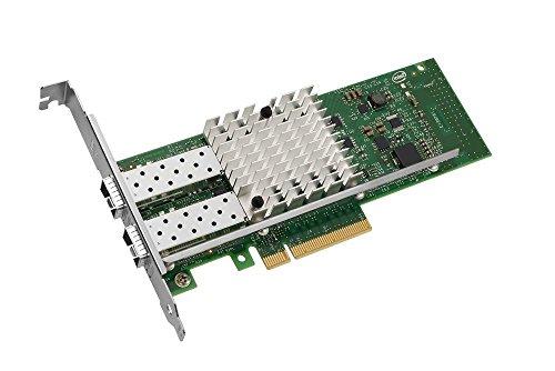 Intel E10G42BTDABLK X520-DA2 Server Adaptor 2 Port / 10 GbE/Direct Attach/Dual Port/Copper / PCI3 x8 x16 / Low Profile/Full Height/Bulk