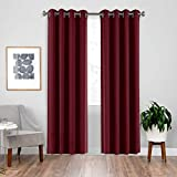 Best Thermal Curtains - downluxe Blackout Thermal Curtains - Privacy Protection Thermal Review