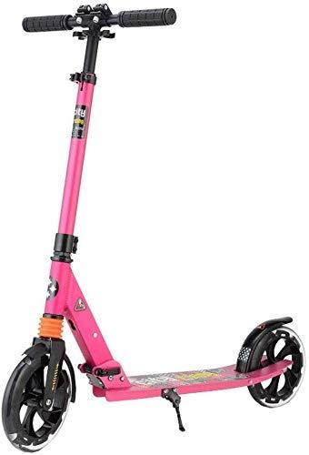 JKCKHA Moto for Adultos/Adolescentes - portátil Ultra-Ligero Plegable Fácil |Plegable Adolescente Kick Scooter, Regalos de cumpleaños for niños de 8 años en adelante
