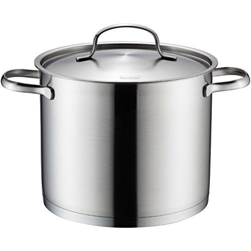 Acier Inoxydable Soupe Pot 304 Acier Inoxydable Ménage Grand Pot Gaz Cuiseur Universel 22cm QIQIDEDIAN