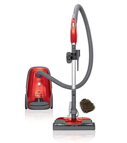 Kenmore 400 Series 81414 Vacuum Bagged Canister Cleaner, 02081414 HEPA, Red (Complete Set), with Bonus Premium Microfiber Cleaner Bundle
