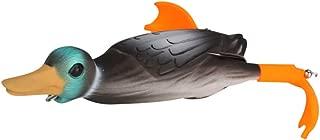 Bassdash Surface Duck Fishing Lure Topwater Soft Bait 3.94in 0.65 oz. for Pike, Bass, Musky, Catfish