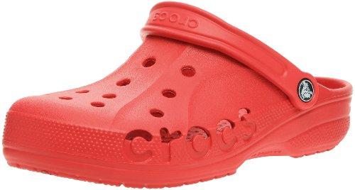 Crocs Baya, Unisex Adulto Zueco, Rojo (Red), 37-38 EU
