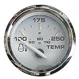 Faria 19003 Kronos Water Temperature Gauge (100-250°F) - 2'