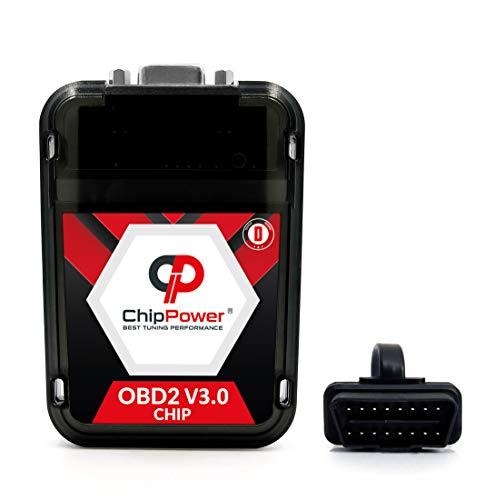 Chiptuning ChipPower OBD2 v3 mit Plug&Drive für Kuga I 2.0 TDCi 120 kW 163 PS 2008-2012 Tuningbox Diesel Chip Tuning Mehr Leistung Weniger Verbrauch