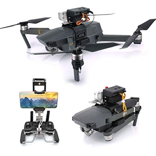RCstyle Mavic Pro Drone Clip Payload AirDrop Release Fishing Bait Wedding Proposal Drone Delivery Device Compatible with DJI Mavic Pro Accessories