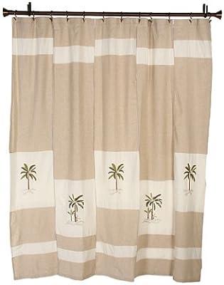 Croscill Fiji Shower Curtain, 70 by 72-Inch