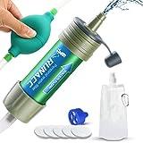 RUNACC Filtro de Agua con Bomba de Bola para Beber...