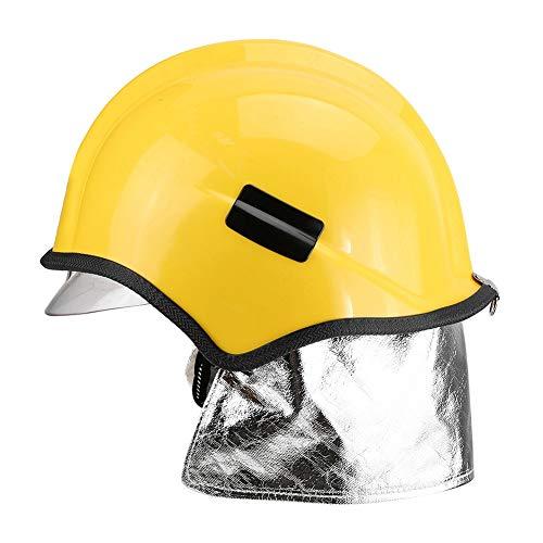 Casco de bombero, casco de seguridad La protección contra la radiación reduce el impacto para proteger
